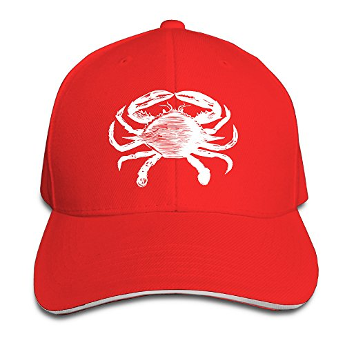 vintage-animal-illustration-crab-mens-baseball-caps-trucker-hats