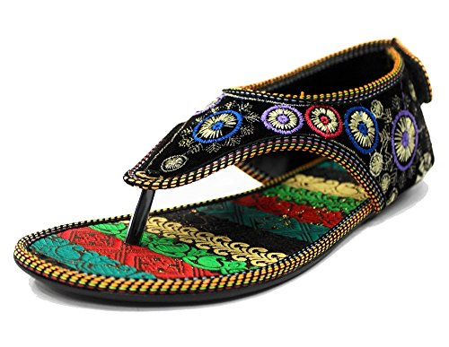 n pour Style Femme SS213 Step Multicoloured Sandales 1pdAqdP