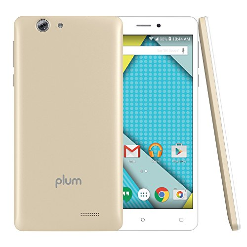 Unlocked Smart Cell Phones 4G GSM - Android 6.0-16GB Memory - 13MP + 8MP Dual Camera - Gold (U.S. Warranty) -