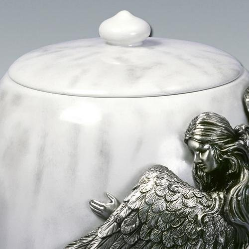 Angelstar Angel's Embrace Pewter Urn, 5-Inch, 8 Cubic Inch (45420) by Angel Star (Image #4)