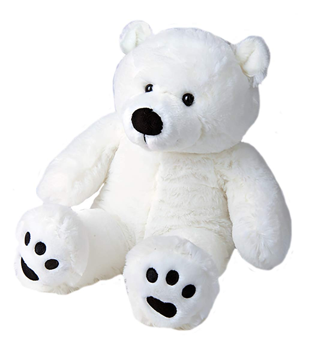 Kit with Cute Backpack No Sew Make Your Own Stuffed Animal Tundra The Polar Bear Stuffems Toy Shop
