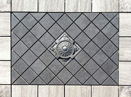"21 3/16"" X 15 1/2"" Tile Medallion - Daltile Linden Point tile - Wall use only"
