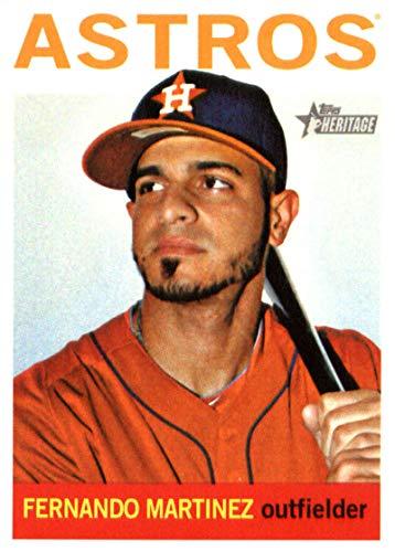 2013 Topps Heritage #381 Fernando Martinez Astros MLB Baseball Card NM-MT