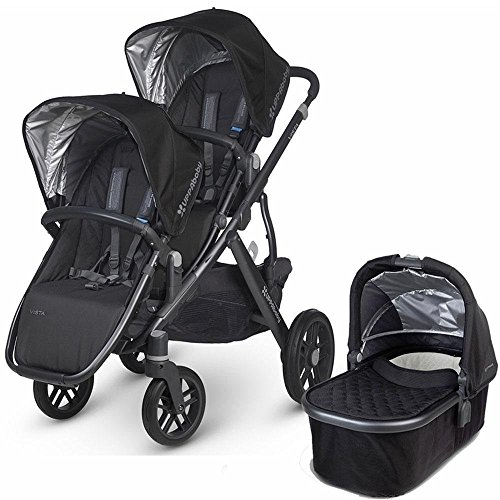 UPPAbaby 2017 Vista Double Stroller Kit with Bassinet, Jake by UPPAbaby