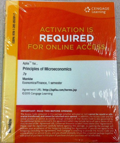 Prin.Of Microeconomics Aplia Access
