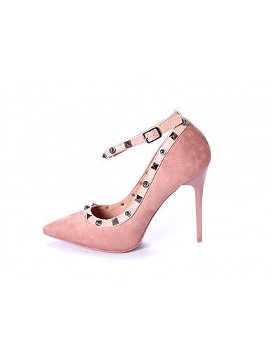 STUDIO CREAZIONI , Damen Pumps Pink Rosa, Pink - Rosa - Größe: 36