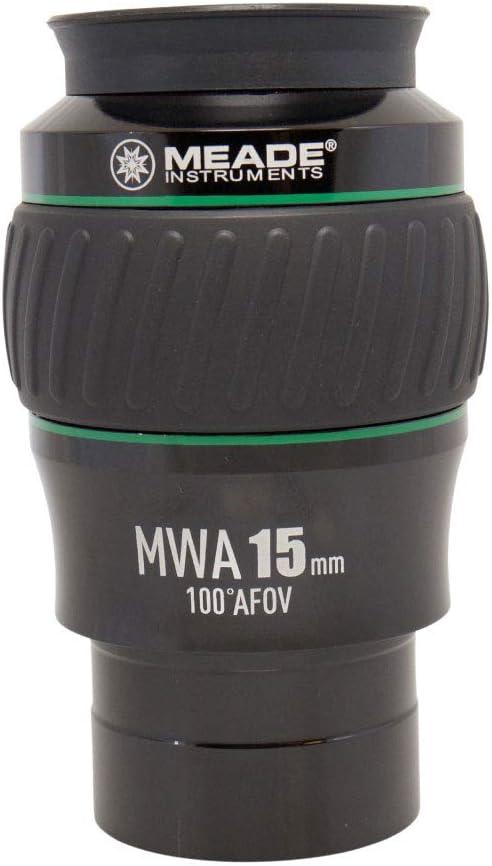 Meade Instruments 607018 Eyepiece 2-Inch Black//Green MWA 21MM 100 Degree