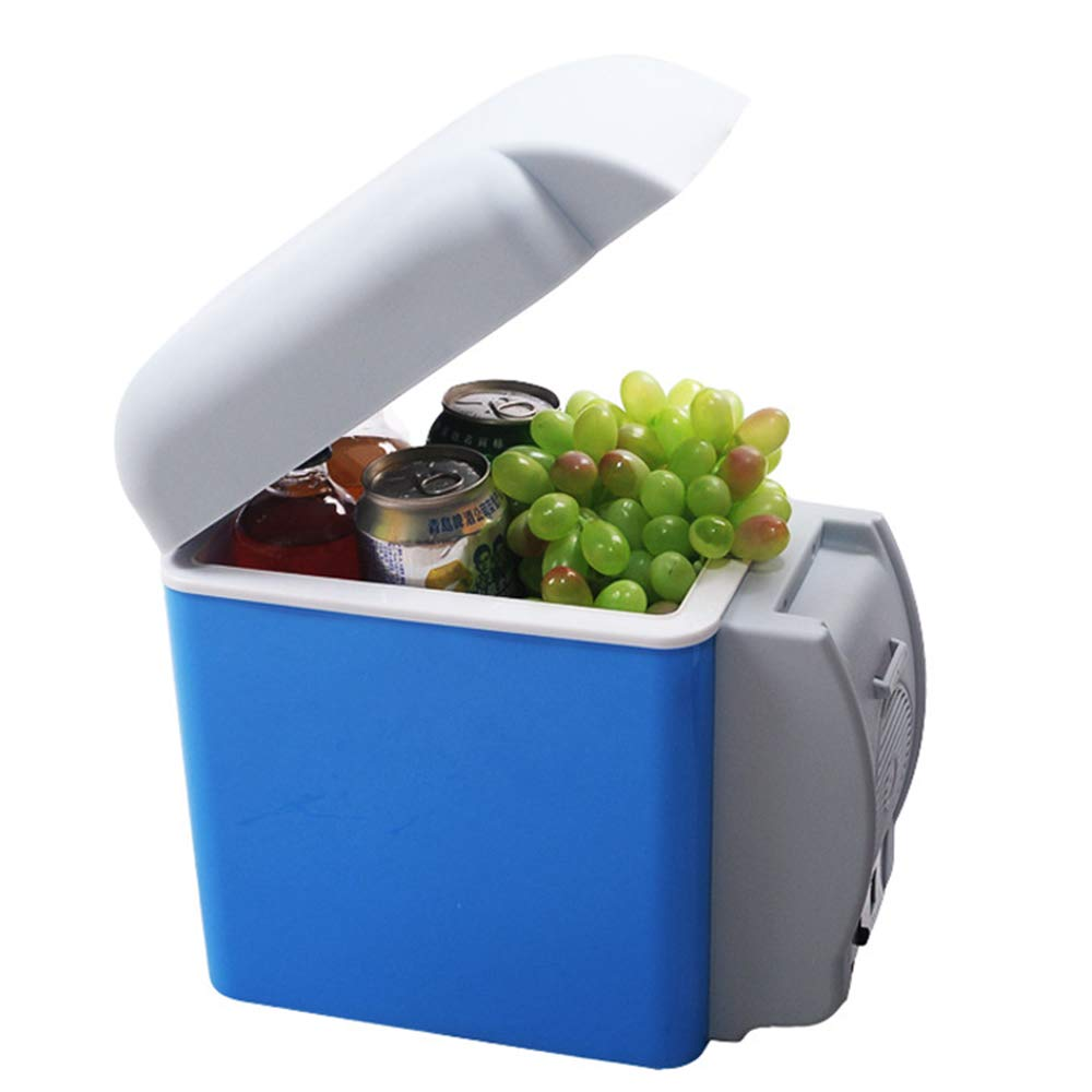 ACCDUER 7.5L Portable Refrigerator,Mini Thermoelectric Dual Cooling Warming Digital Plug in Refrigerator for Car, Travel, Beach, Outdoor and Home