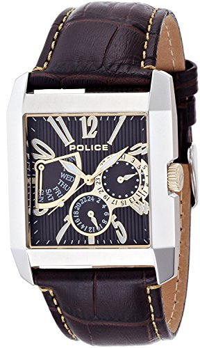 POLICE watch Kings Avenue Retrograde 5 ATM water resistant 13789MS-12 men's [regular imported goods]