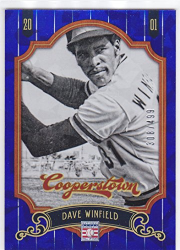 - 2012 PANINI COOPERSTOWN HALL OF FAME DAVE WINFIELD BLUE /499