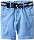 Nautica Sportswear Kids Boys 2-7 Belted Short, Summer Blue, 5 image