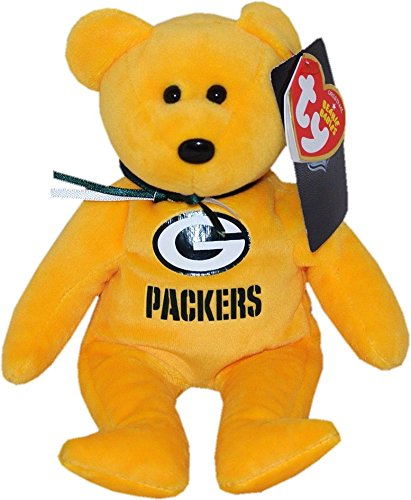 Price comparison product image Green Bay Packers NFL Beanie Baby - Teddy Bear by TY (41721)