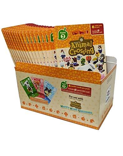 Animal Crossing Amiibo Cards Series 1 2 3 4 Set Bundle (72 Packs) (6 Cards Per Pack / 456 Cards) by Nintendo (Image #2)