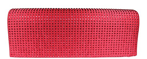 Neue Hand Tasche, Poschette giorno donna rosso rot 1
