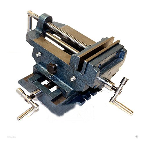 "6"" Cross Drill Press Vise Slide Metal Milling 2 Way X-Y Clamp Machine from Unknown"