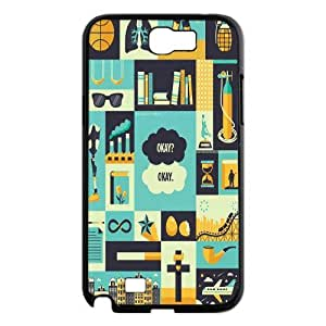 Okay?, The Fault in Our Stars- John Green Hard phone Case for Samsung Galaxy Note 2 N7100 case Cover XRF031440