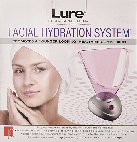 Lure Steam Facial Hydration System Model No. 1936