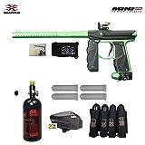 Empire Mini GS Advanced Paintball Gun Package Black/Neon Green Deal (Small Image)