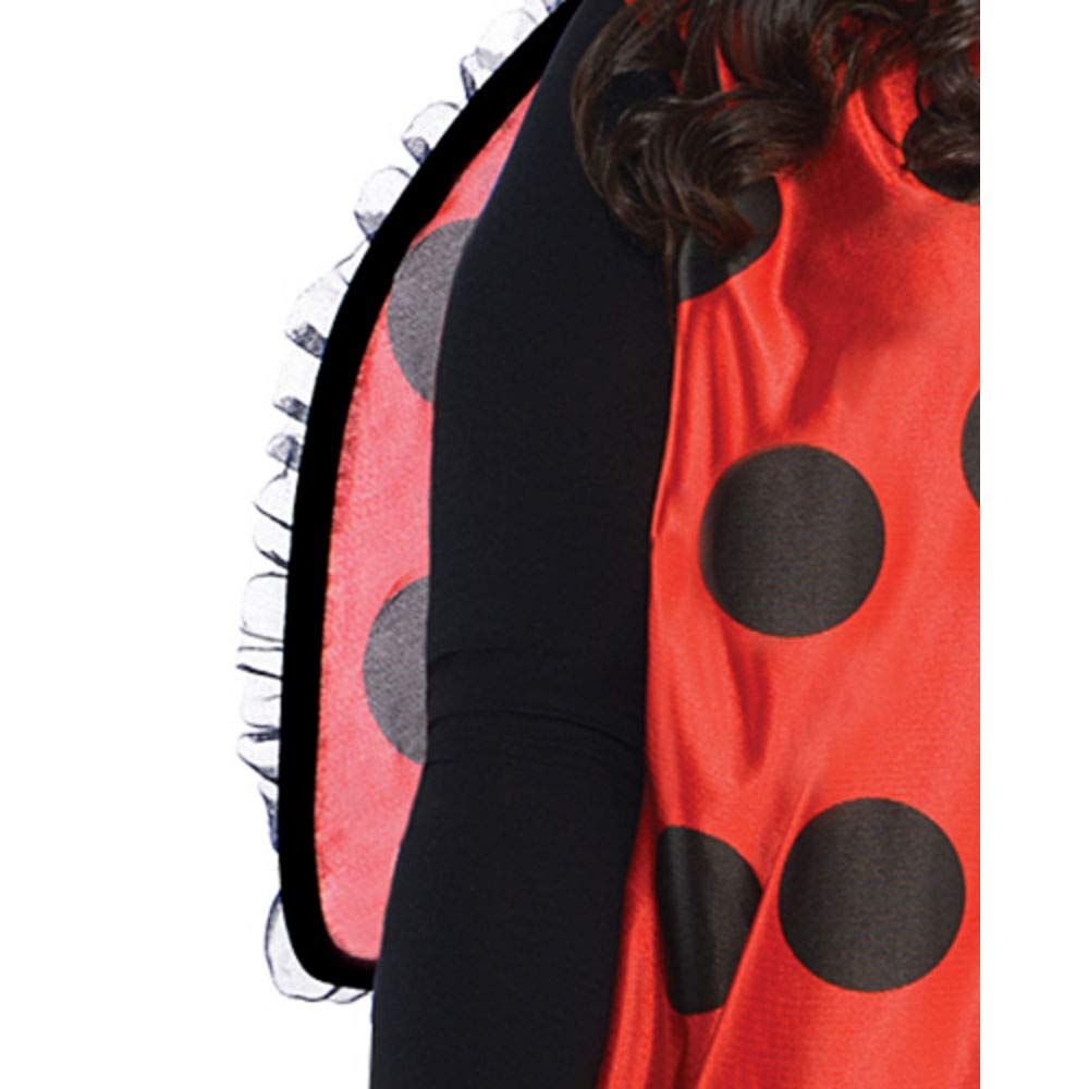 with Included Accessories AMSCAN Darling Ladybug Halloween Costume for Women Plus Size
