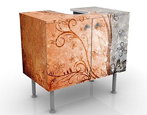 Apalis Design Vanity dignità 60x 55x 35cm, piccolo, largo 60cm, regolabile, lavandino, lavabo, rubinetto per lavabo da bagno, armadio, unità di base, bagno, narrow, Flat 52921