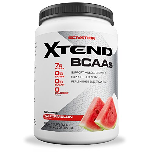 Scivation Xtend BCAA Powder, Branched Chain Amino Acids, BCAAs, Watermelon, 90 Servings