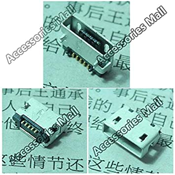 Computer Cables 5-200PCS New for HP Slate 10 HD Replacement Micro USB DC Charging Socket Port Connector Cable Length: 5 pcs