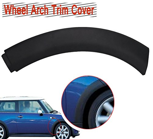 Front Fender Protectors (E-Most 51131505864 Mini Cooper Wheel Arch Trim Cover With Clips Wheel Housing Trim on Fender Front Right for 2002-2008 MINI One/One D/Cooper/Cooper S R50 R52 R53)