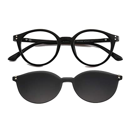 b374ba23d5d BWAM Fashion Shades Frameless One-Piece Sunglasses with Interchangeable  Lenses for Men Women Colored Lens