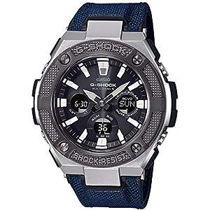 Casio Reloj Analógico-Digital para Hombre de Cuarzo con Correa en Tela GST-W330AC-2AER 10