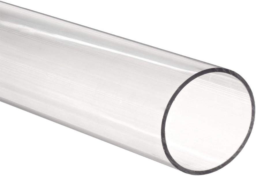 leicht zu schneiden//Arbeit kann bohrende DIY Werkzeug 200mm,Outer Diameter 19mm Plexiglas hohles Rohr Zerobegin Acryl Plexiglas Rundrohr 5Pcs