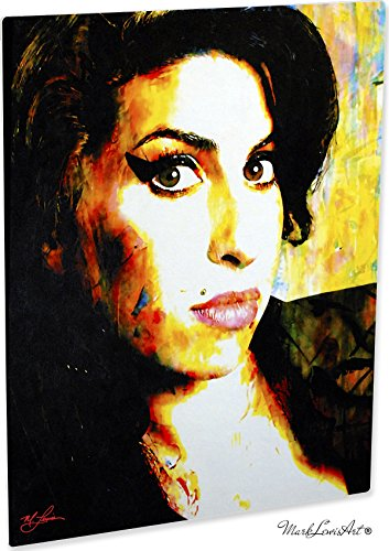 Mark Lewis Art Amy Winehouse artwork abstract modern paintings signed print - 8