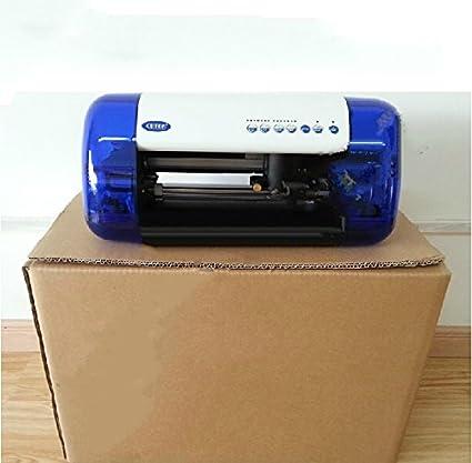 Mini vinilo de corte plotter A4 tamaño cutok DC240, sintética PVC ...