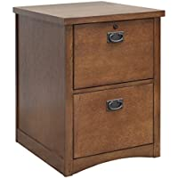 Martin Furniture Mission Pasadena 2-Drawer File Cabinet
