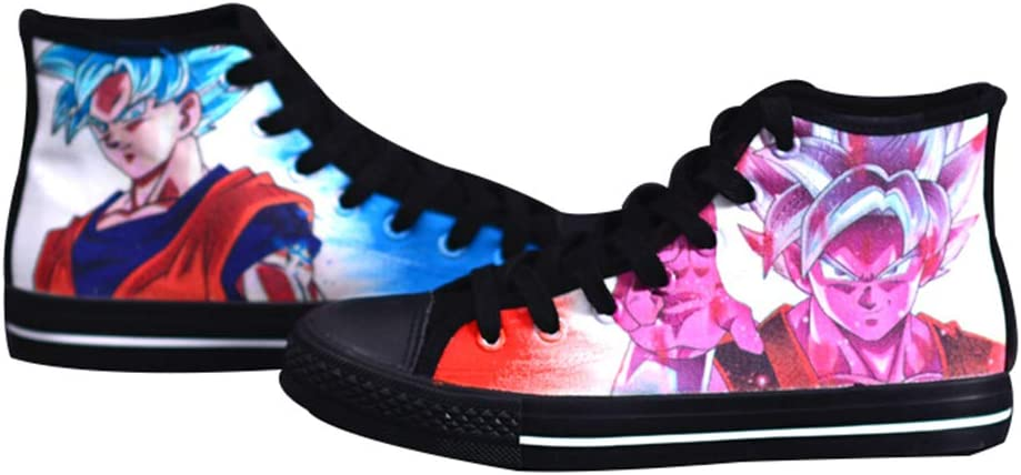 Telacos Dragon Ball Z Son Goku Vegetto Cosplay Shoes Canvas Shoes Sneakers 3 Choices
