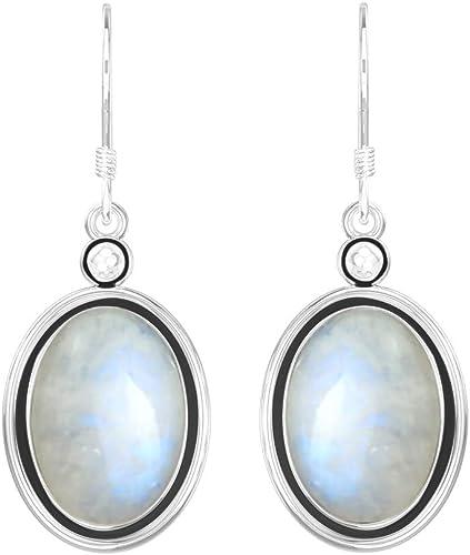 Blue Fire Opal Silver Plated Fashion for Women Jewelry Gemstone Pendant OD7018