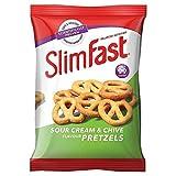 4X Slimfast Sour Cream & Chive Pretzels 23g