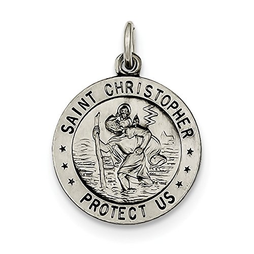 Sterling Silver St. Christopher Medal QC439