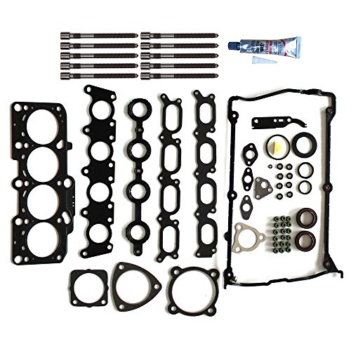 SCITOO Replacement for Head Gakset Set with Bolts fit Volkswagen Jetta Passat Beetle Audi TT A4 Quattro 1.8L 1997-2006 Engine Head Gaskets Set Kits