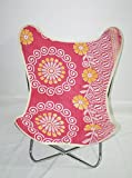 Classic Butterfly Chair Cover Armchair Kantha Art Butterfly Chair Frame