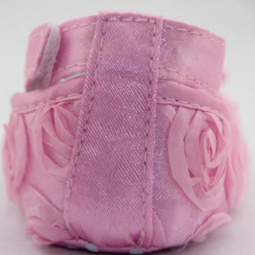 Mädchen schöne Kinder Rosa Warm weich Blumenschuhe ChineOn Pink Cack neugeborenes Kleinkind 12cm Prinzessin Baby Stil IpB1dHwdq