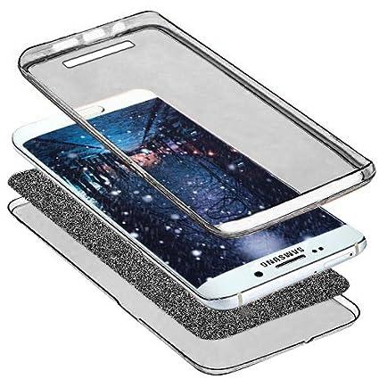 Funda para Xiaomi Redmi 4A cuerpo completo 360 cobertura de protecci/ón ikasus Cristal transparente ultrafino brillante brillante brillante brillante brillante parte delantera trasera cobertura comp