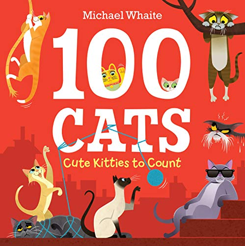 Book Cover: 100 Cats: Cute Kitties to Count