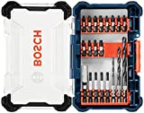 Bosch 20 Piece Impact Tough Drill Driver Custom Case System Set DDMS20