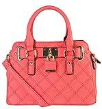 Diophy PU Leather Front Lock Decoration Shell Shape Womens Top Handle Purse Handbag SZ-3048 LI-3232