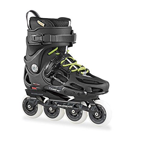 Rollerblade Men's Twister 80 Urban Skate 2015, Black/Green, US 11