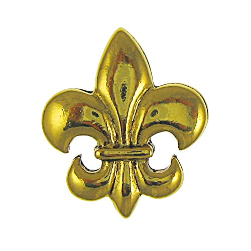 Jim Clift Design Fleur de Lis Gold Lapel Pin - 10 Count