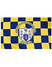 Officiële IERLAND GAA Crest County Vlag CLARE 152 centimeter x91 centimeter.