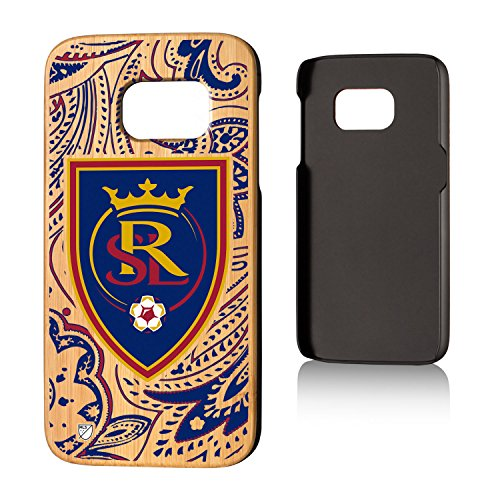 Keyscaper MLS Real Salt Lake Paisley Case for Galaxy S7, Wood by Keyscaper