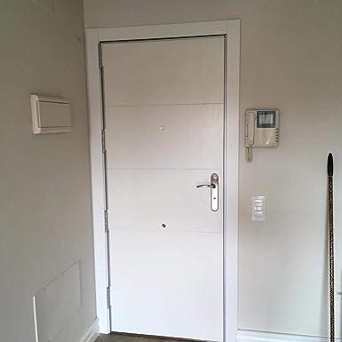 Puerta blindada con cerradura arcu: Amazon.es: Industria, empresas ...