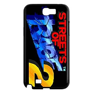 Samsung Galaxy N2 7100 Cell Phone Case Black Streets of Rage2 Gvkuw